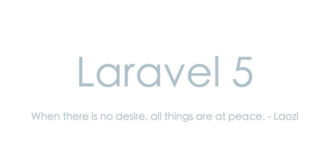 5个Laravel Eloquent 小技巧,你学会了么?